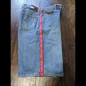 Vintage Tommy Hilfiger denim logo shorts